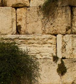 Blessings of prayer at the western wall