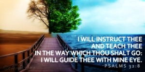 Psalm 32:8 A Prayer for Help