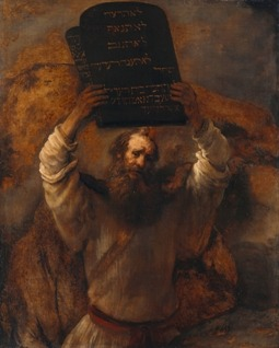 Moses, a reference to the 40 days of prayer