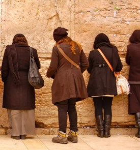 Prayer request at the western wall
