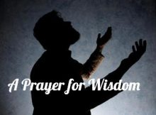 A Prayer for Wisdon