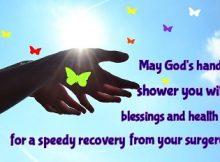 prayers for surgery